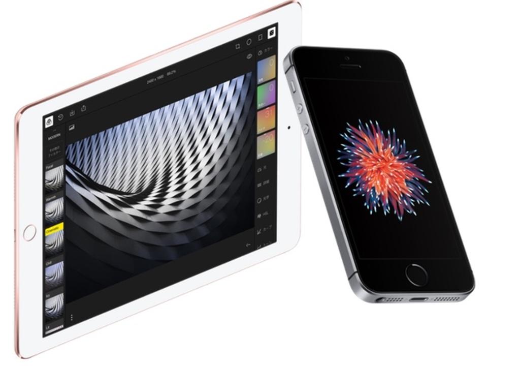 iPhone SEと9.7インチiPad Proのメモリは2GB。ベンチマーク結果も登場