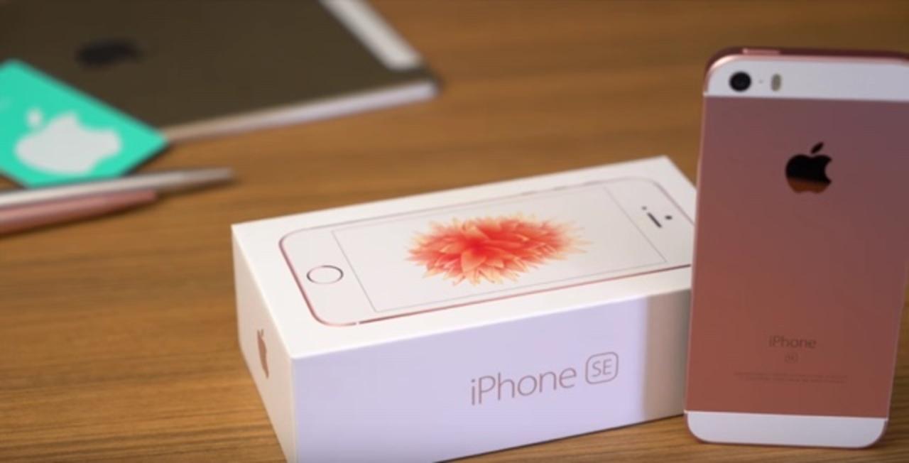 あらお早い。iPhone SEと9.7インチiPad Proのアンボックス動画が登場