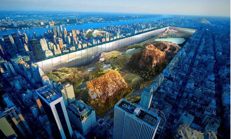 高層ビルに囲まれたNYセントラルパークの景観を蘇らせる方法