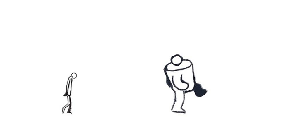 人が歩くだけのアニメーションを100日描き続けた結果