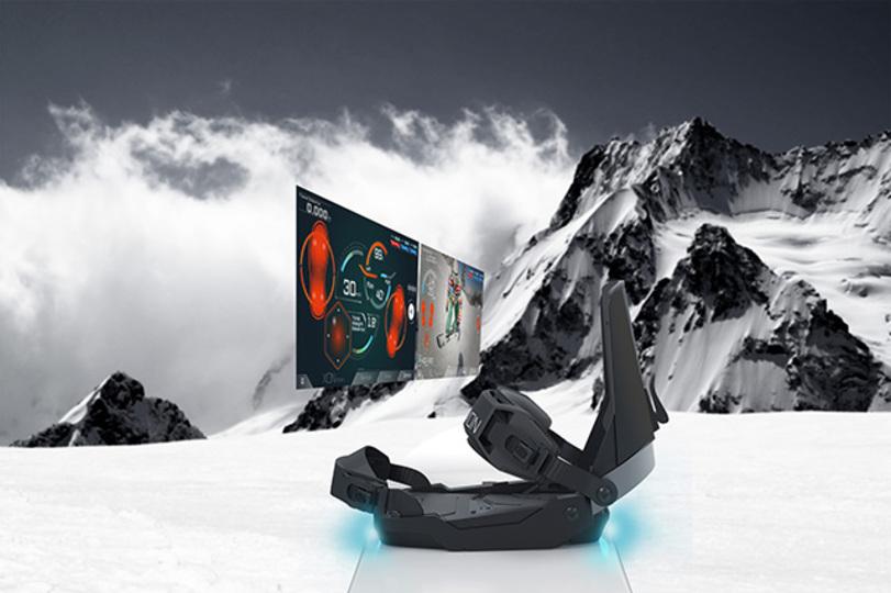 次回のスノボで試してみる? Cerevoのスノーボーダー専用IoTバインディング「SNOW-1」レンタル開始