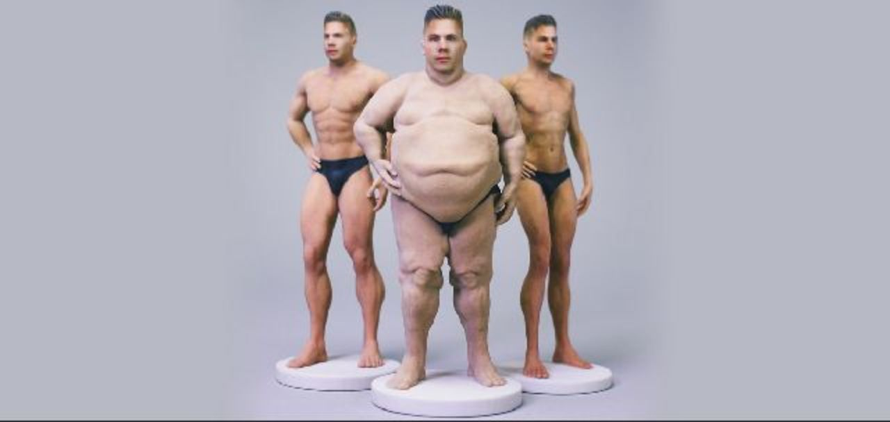 気持ち悪すぎるぞ! パンイチ姿の自分フィギュア「Nudee」