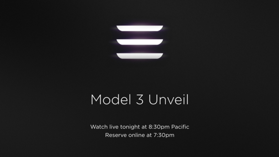 【更新終了】テスラ「モデル3」発表イベントの内容をいち早くお届け!