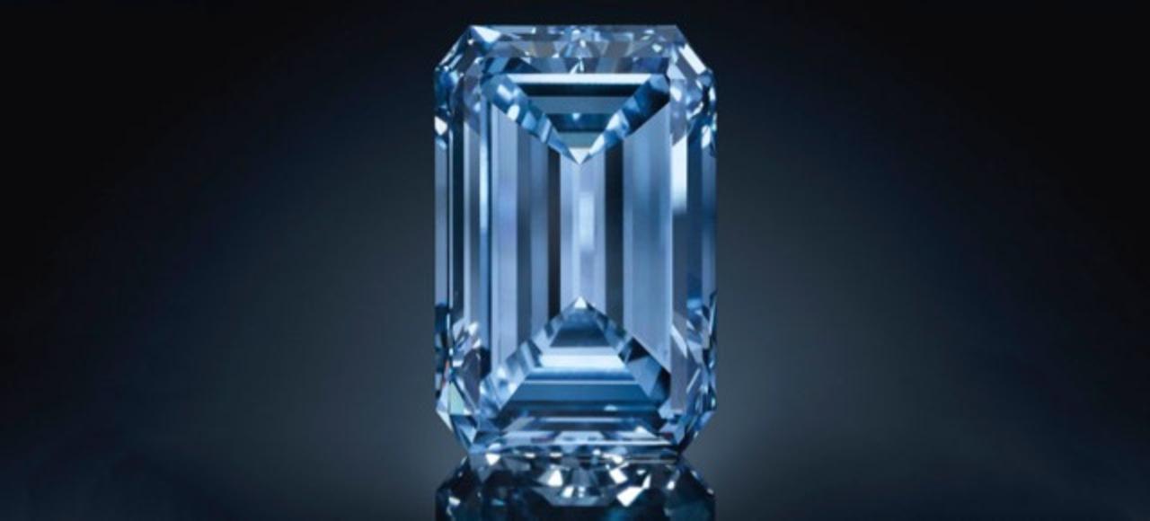 手頃な大きさのブルーダイヤモンド、欲しかったですか? 今がチャンスです(予想売値は50億円)