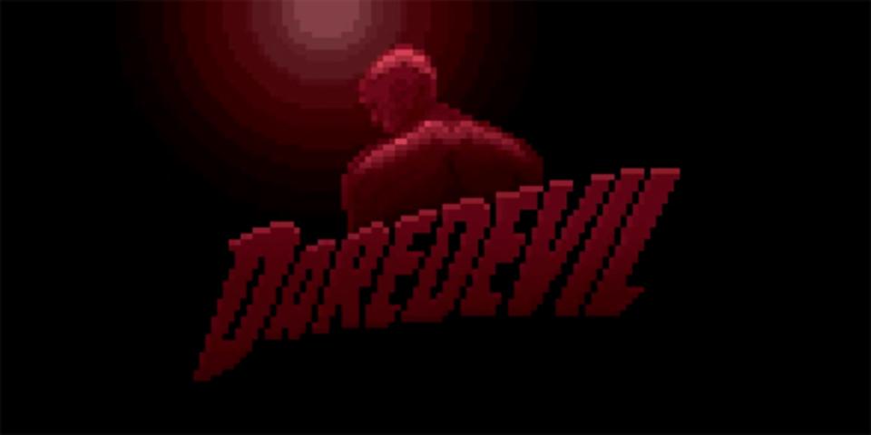 ドラマ「デアデビル」のOPをチップチューンにアレンジ