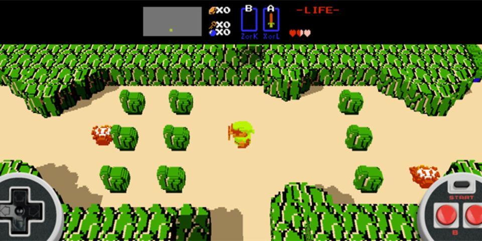 延々と遊べそうなブラウザでプレイできる3D「ゼルダの伝説」