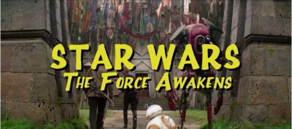 もし「フォースの覚醒」がシチュエーション・コメディ・ドラマだったら?