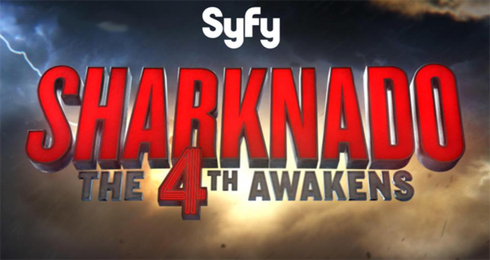 サメ竜巻映画第4作「シャークネード:フォースの覚醒」の放送が決定