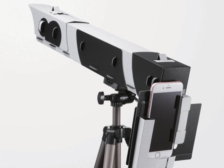 みんなで見られてしかも撮れる。スマホを天体望遠鏡にしてみません?