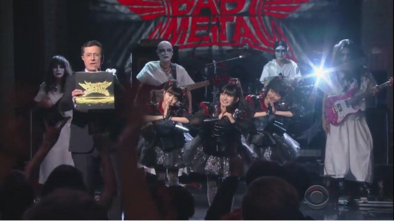 アメリカの人気トーク番組に日本が世界に誇るBABYMETALが登場!