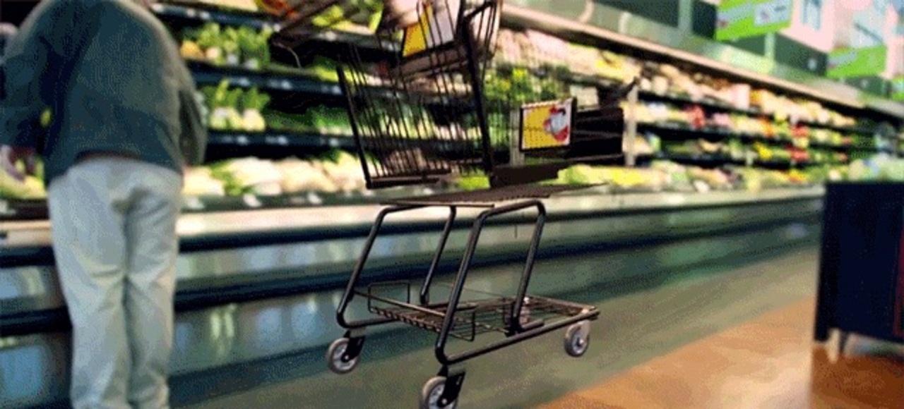 ショッピングカートは1台なんと1万円。実はこんなに高機能だった