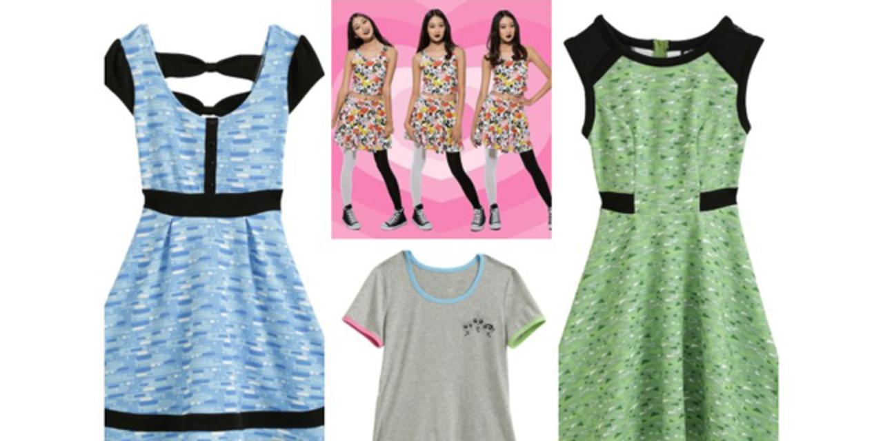 春らしい「パワーパフガールズ」ファッションが登場です!