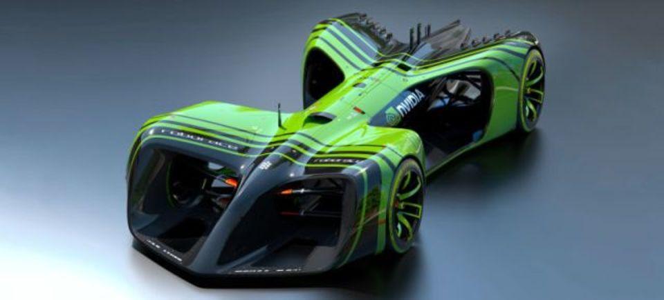 自動運転カーレース「Roborace」、車の頭脳はNvidiaのシステムに決定