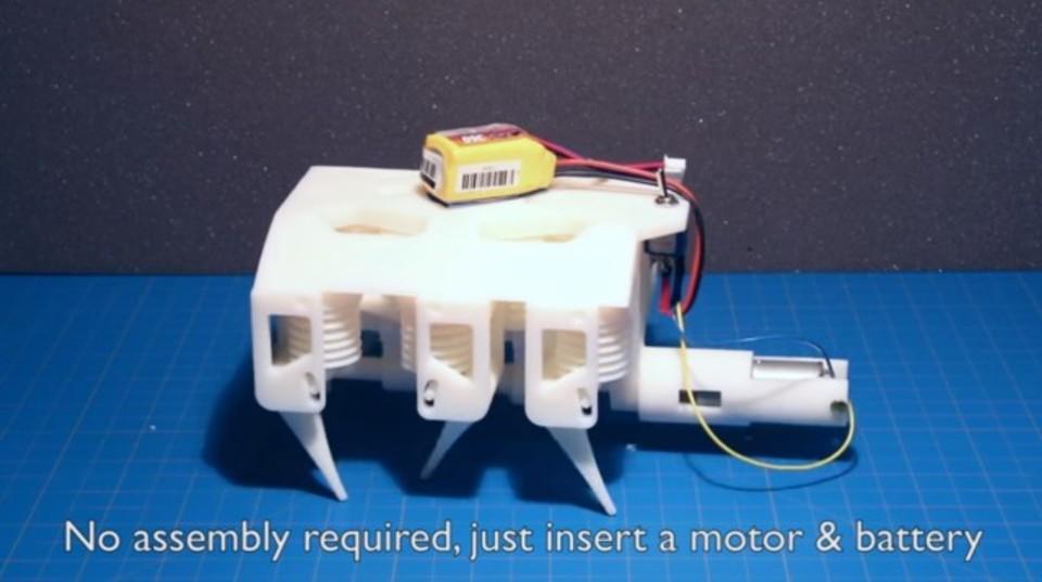 MITの新たな3Dプリント技術。3Dプリントしたらすぐ動ける即戦力ロボ