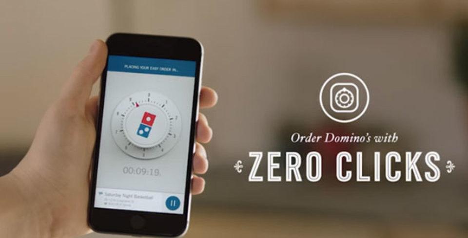 ゼロクリック・オーダー! ドミノピザの新アプリ、起動するだけで注文完了