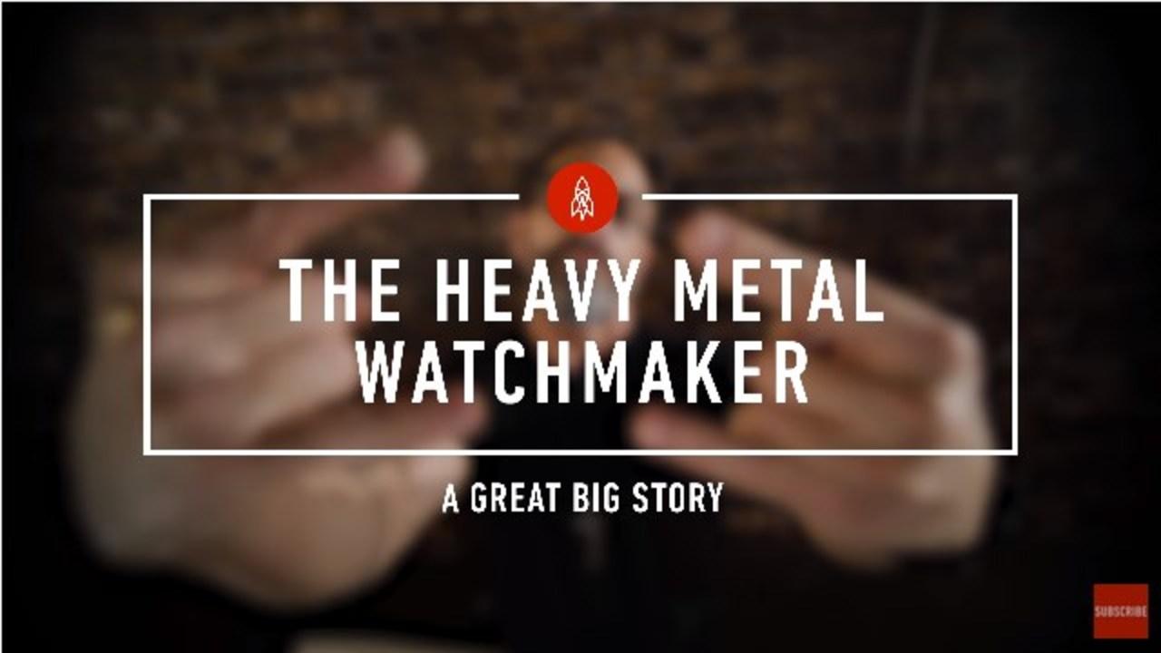 有名ヘヴィメタルバンドのギタリストが時計職人に転身したわけ