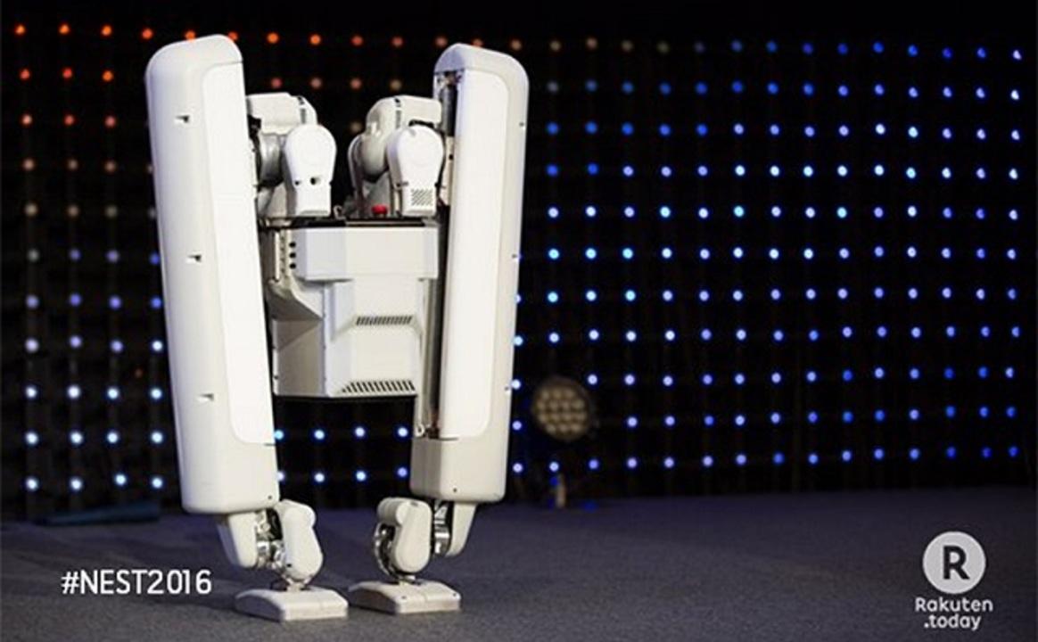 グーグルに買収された東大発ベンチャー、膝なし2足歩行ロボットをお披露目
