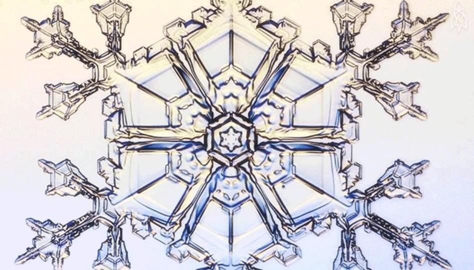 美しい雪の結晶ができる様を、「アナと雪の女王」監修者が解説