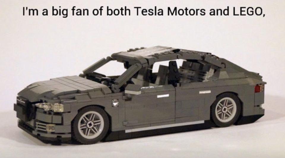 動画で見ると大感動。レゴでできたテスラ モデルS、動きます