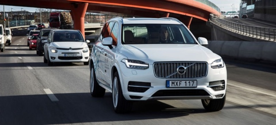 ボルボ、100台の自動運転車を中国でテスト走行させるようです