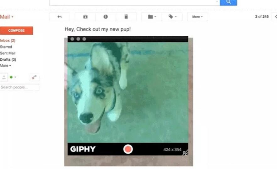 GIFアニメーションを簡単に作成できるアプリ、GIPHY