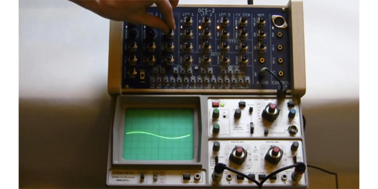 アナログシンセサイザーのいろんな波形を見て、聞いてみよう