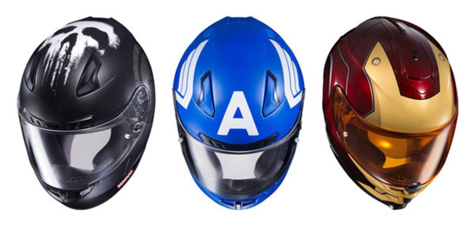マーベル・ヒーローなバイク用ヘルメットが登場