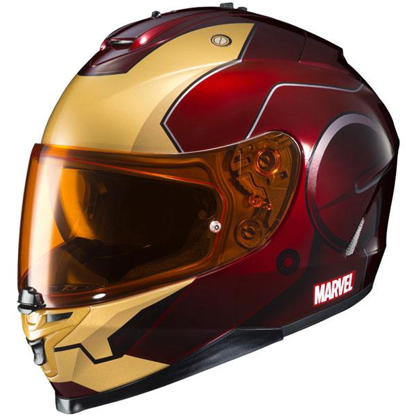 マーベル・ヒーロー バイク ヘルメット