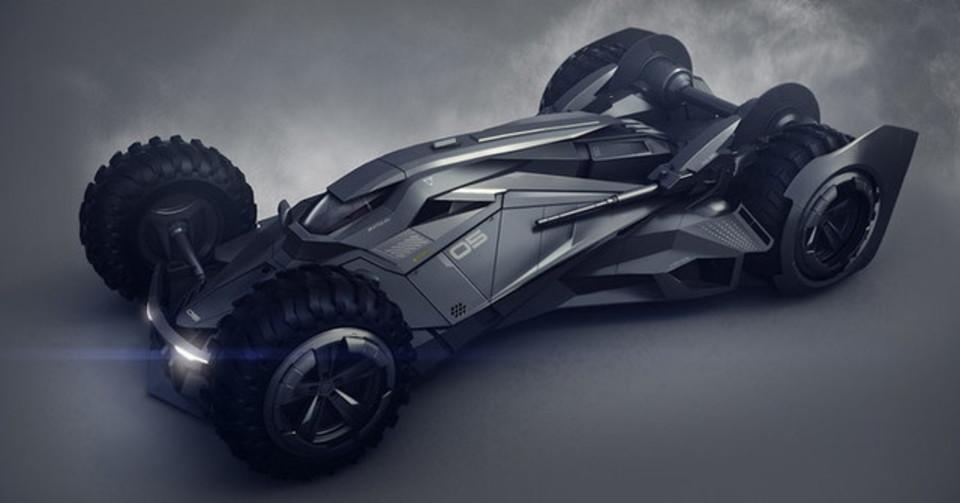 未来のバットマンが乗るかも?バットモービルのコンセプト・デザイン