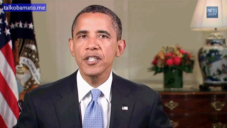 オバマ大統領に、しゃべらせたいことを指示できる脱力系サービス「Talk Obama To Me」