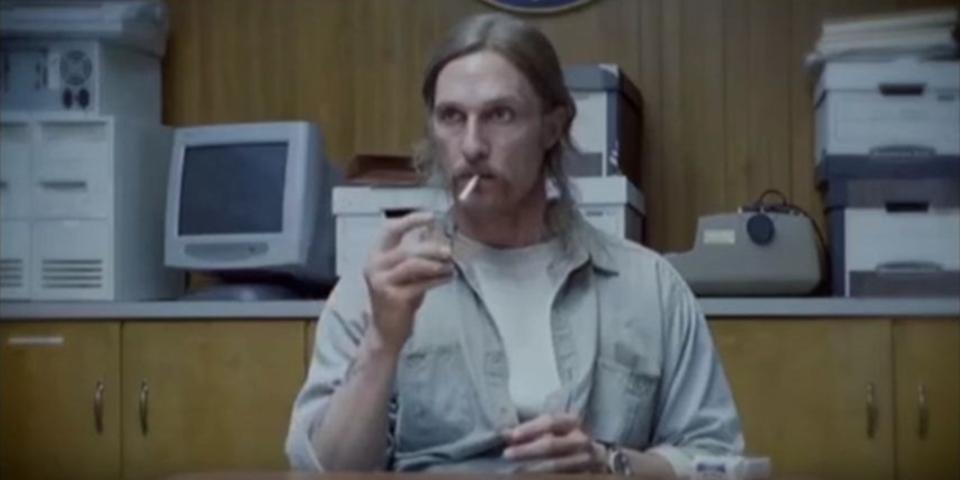 ドラマ「TRUE DETECTIVE」でマコノヒーが吸ったタバコの本数