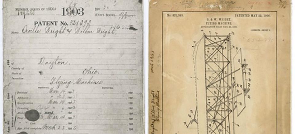 ライト兄弟の特許、38年ぶりに見つかる。盗難ではなく「なくした」だけ
