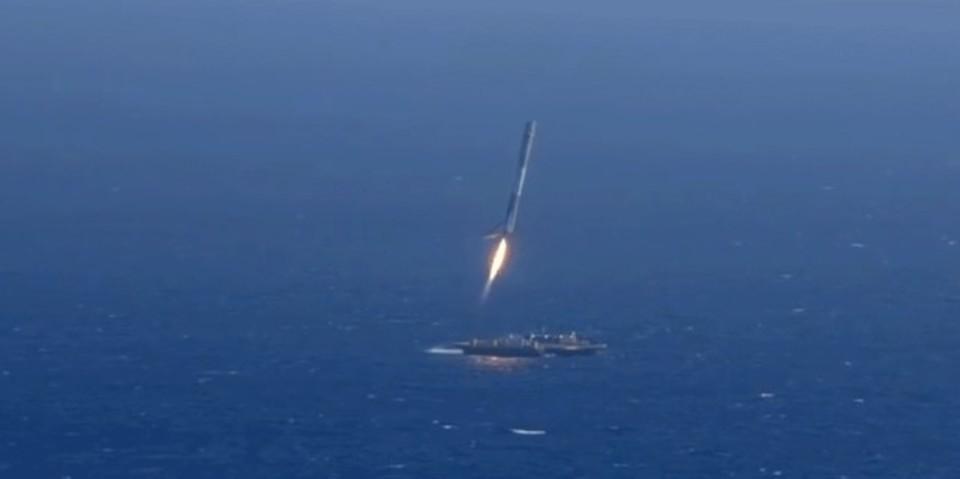 祝海上着陸! SpaceXのこれまでの離着陸とその失敗をコンピレーション動画で