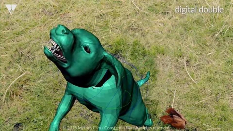 「人間を襲う犬」はVFXでこのように作られる