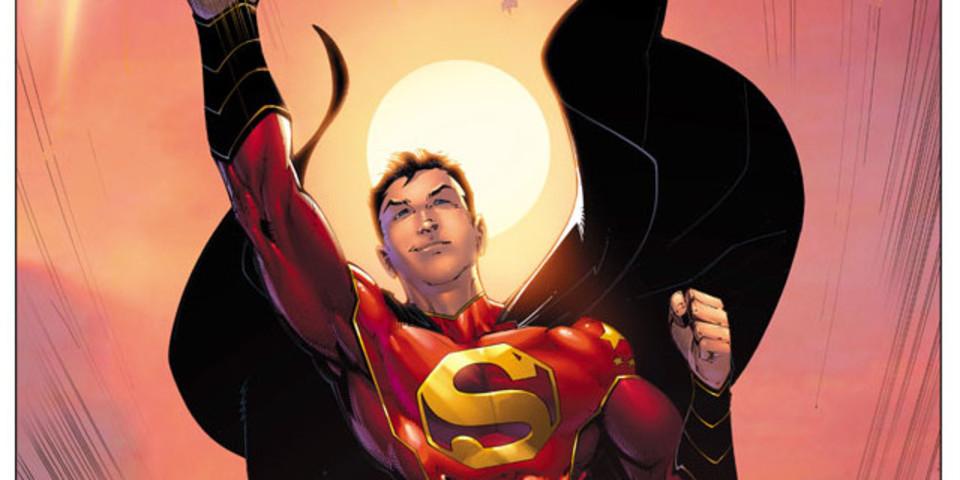 新スーパーマンは中国人? 「ニュー・スーパー・マン」表紙絵&名前発表