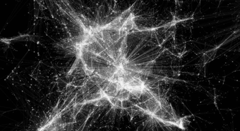 息をのむほど美しい銀河の相関図