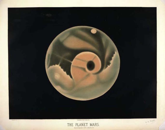 19世紀に描かれた天体の絵が抽象的でなんとも素敵
