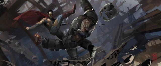 バットマン vs スーパーマン コンセプト・アート