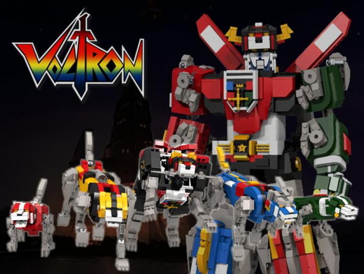 「ボルトロン」がレゴ化の実現に向けて賛同者を募集中!