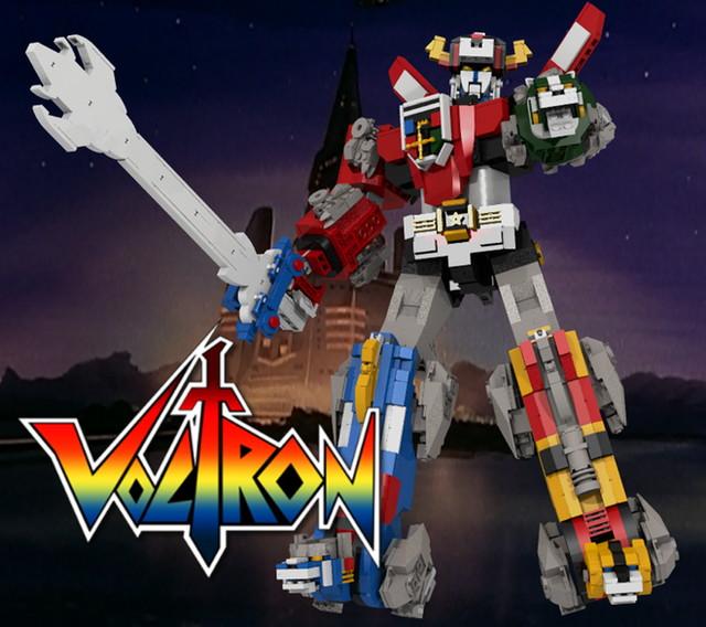 LEGO IDEAS ボルトロン レゴ 製品化