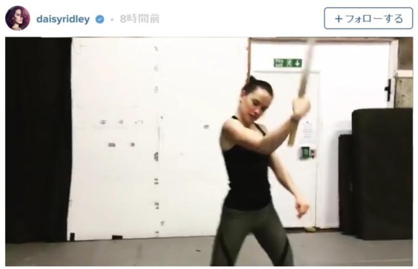 デイジー・リドリーが「エピソード8」のトレーニングを開始?