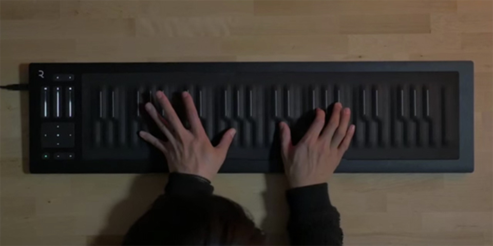 ドラマ「ゲーム・オブ・スローンズ」のテーマを5次元的な鍵盤「Seaboard」で演奏