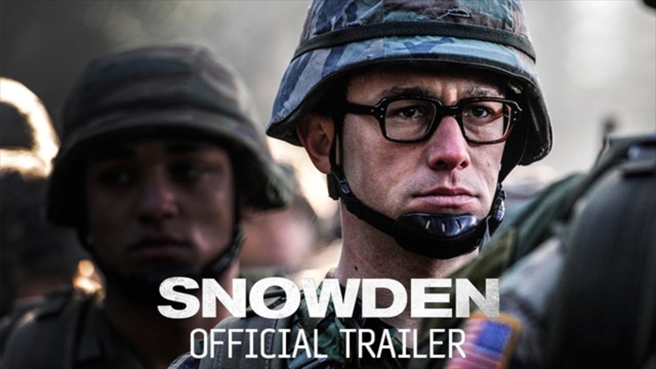 エドワード・スノーデンの伝記的政治スリラー映画「スノーデン」予告編