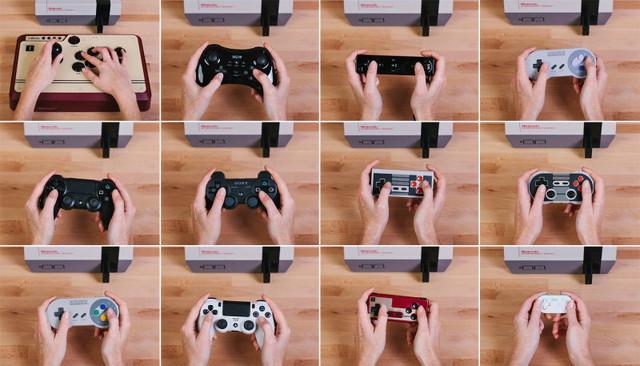 コントローラー NES アダプタ 無線