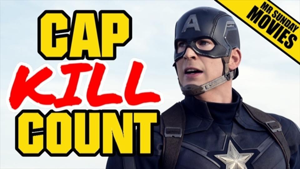 ヒーローの名のもとにキャプテン・アメリカが殺してしまった人数