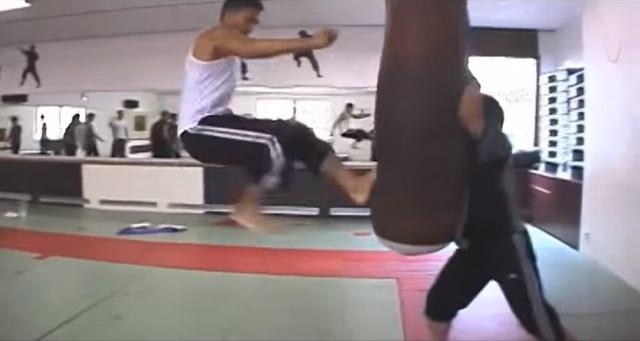 ドニー・イェン トレーニング