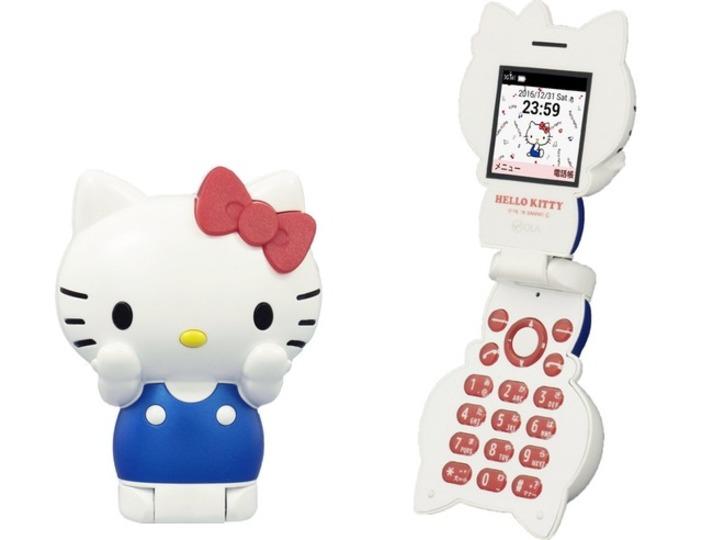月額980円でキティちゃんと一緒。ハローキティフォンが予約スタート