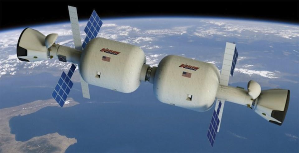 宇宙ステーション、地球外で膨らませる新デザインへ