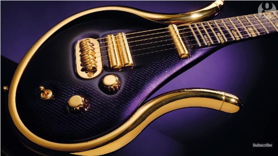 プリンス最後のギターを作った職人がその思いを語る