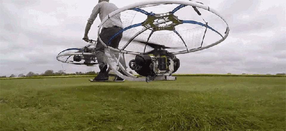 現実世界で1番ファンタジーに近い乗り物、自家製「ホバーバイク」